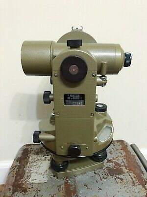 David White Path Theodolite Surveying Transit W Case Tr303 Fuji Koh