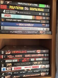 70 DVD's for sale