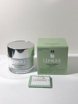 Clinique Even Better BRIGHTER Moisture Cream 1.7 oz NIB Very Dry to