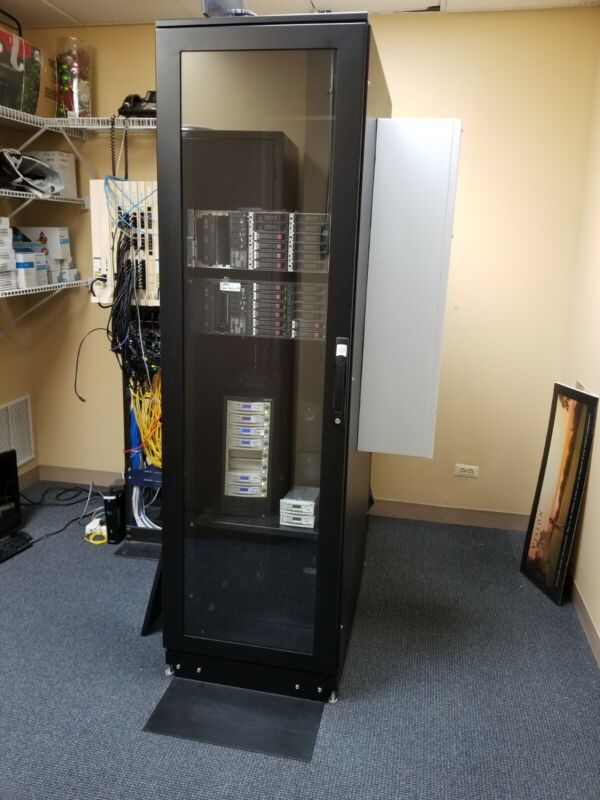 Blackbox Server Cabinet with A/C unit