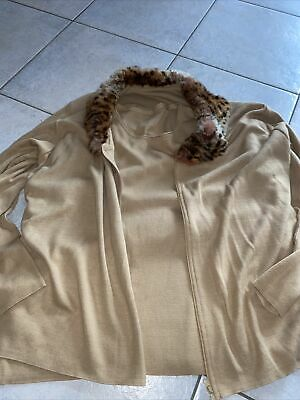 ❤️TWINSET aus Wolle Und Echtfell Gr M 40/42❤️ Made In Italy