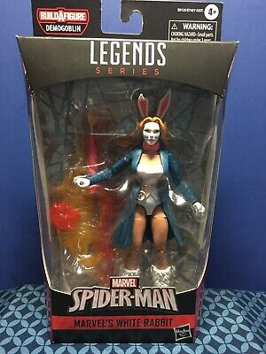 Marvel Legends NEW * White Rabbit * BAF Demogoblin Spider-Man Action Figure