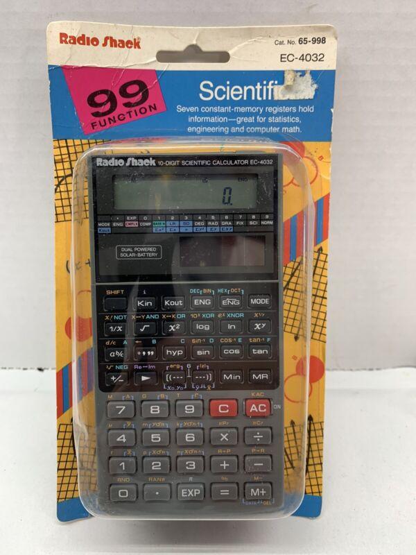 Radio Shack EC4032 Scientific Calculator