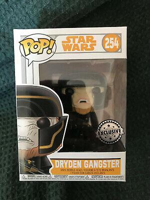 New Funko Pop Vinyl Figure - Dryden Gangster 254 Exclusive - Star Wars Solo