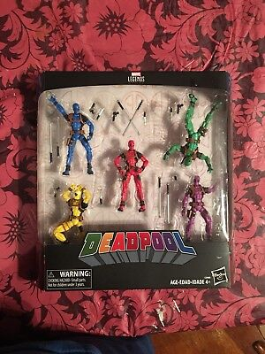 Marvel Legends Deadpool Rainbow Squad 5 Pack 3.75 Inch Brand New in Box #2