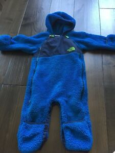 Fall and spring fleece suit  6-12 months