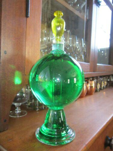 Pharmacy Show Globe ~ Apothecary Showglobe Glass Bottle Pharmacist Display Jar