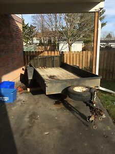 5x10 utility trailer with new lights and wheels!