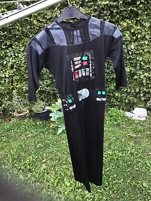 Faschingskostüm kinder star wars Darth Vader Anzug Overall rubies Halloween