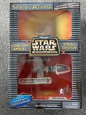 Star Wars Action Fleet Imperial Y Wing Alpha Series micro machines concept