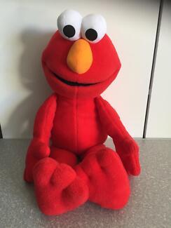 Bulk Lot Sesame Street Large Elmo Plush X 3 Miscellaneous