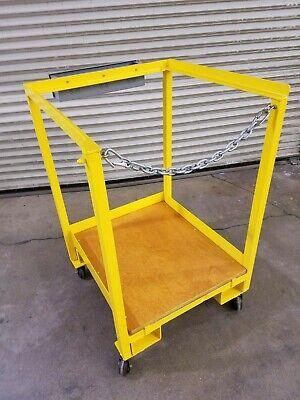 30 X 30 Forklift Safety Cage Work Platform Man-lift Aerial Basket - Used