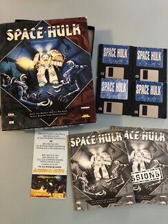 PC Game 1993 - Warhammer Space Hulk - Complete in Box