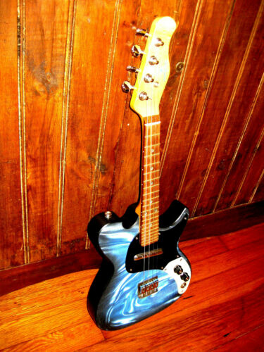 Mandocaster Mandoblaster MandoStrat Bruce Herron Blue Star Electric Mandolin USA