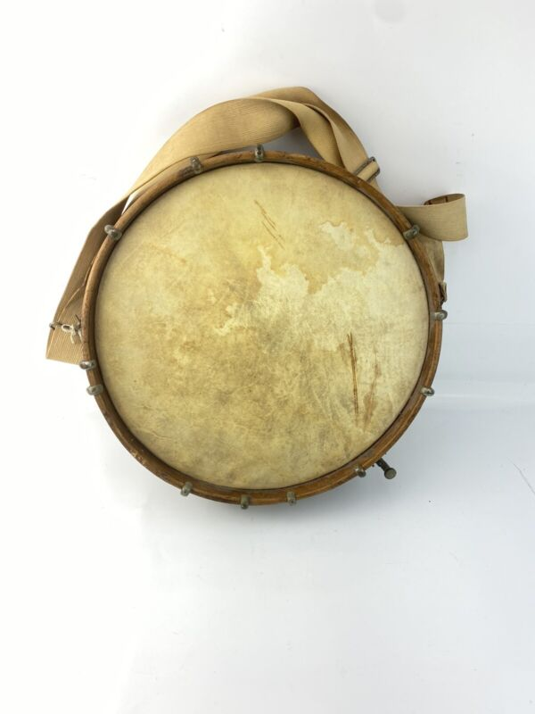 "Very Early 1902-1903 F. E. Dodge Snare Drum 14.5"" X 3.75"""