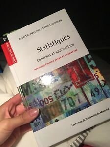 Statistique concepts et applications