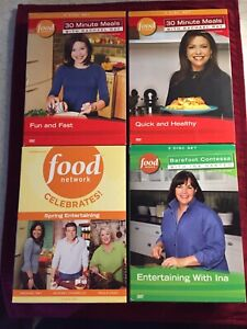 Food Network cooking/recipe dvds