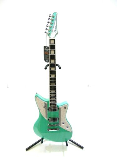 Hartwood Charger Electric Guitar, Peppermint-DAMAGED-RRP £229