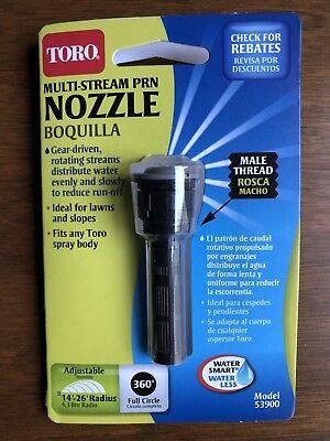 Toro Multistream Prn Male Nozzle   Full Circle 360 Degrees Model 53900