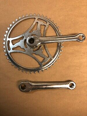"vintage 4 1//2/"" COTTERED RIGHT CRANK ARM  36T SPROCKET with cotter pin  NOS"
