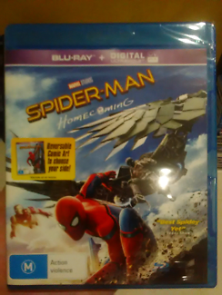 Spiderman Home Coming Blu-ray