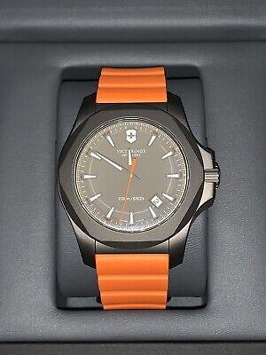 Victorinox Swiss Army INOX Titanium Diver - Gray/Orange - NEW