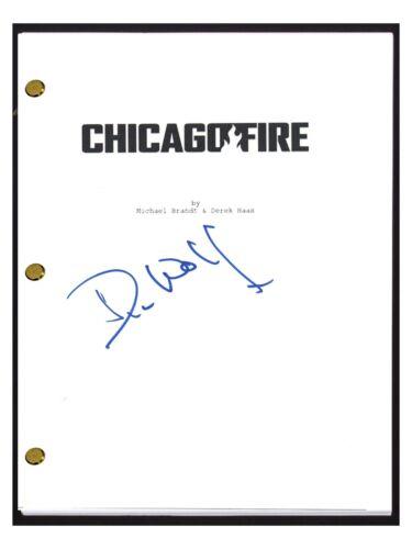 Dick Wolf Signed Autographed CHICAGO FIRE Pilot Episode Script COA