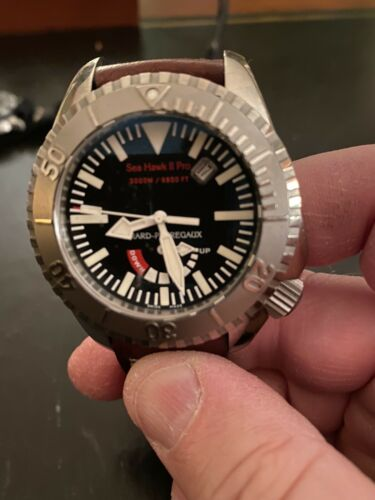 Girald Perregaux Sea Hawk II Pro 3000 m Titanium Divers Watch - watch picture 1