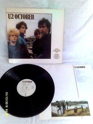 U2 OCTOBER, 1981, ORIGINAL PHOTO INNER SLEEVE, VERY GOOD+ CONDITION comprar usado  Enviando para Brazil