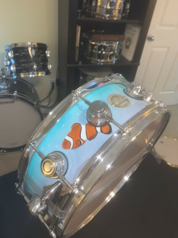 FINDING NEMO DW Ten And Six All Maple Collectors Edition Snare Drum