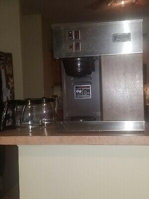 Bunn Commercial Coffee Pot Machine Vpr Pour O-matic W 2 Coffee Pot
