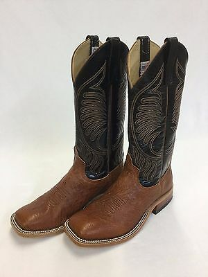 (Men's Anderson Bean Brandy Mad Dog Smooth Ostrich, Style 5386A)