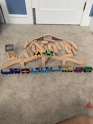 Thomas Wooden Tracks And Train Lot Vinnie Ryan Stephen Diesel Percy Diesel 10