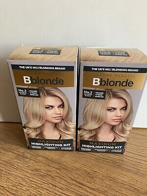 Jerome Russell Bblonde Maximum Highlighting Kit Permanent  No. 2 x 2 Boxes