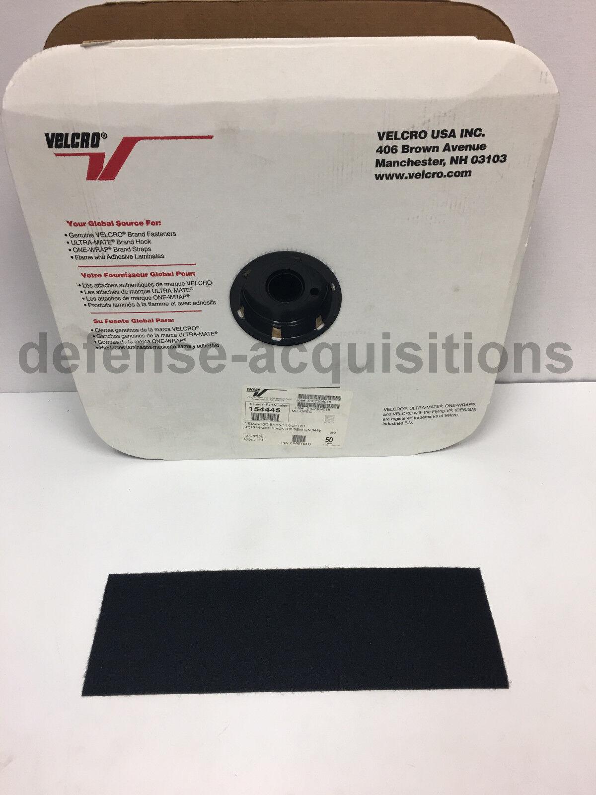 4 INCH VELCRO® Brand LOOP Fastener- Sew On Mil-Spec