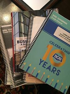 Concordia JMSB books + sos booklets midterm final