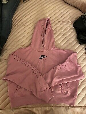 Pink Nike Jumper Medium