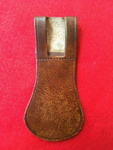 WWI US Army Garrison Belt Leather Sword Sabre Chape