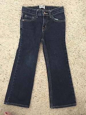 THE CHILDRENS PLACE BOOTCUT STRETCH DENIM JEANS ADJUSTABLE WAIST-SIZE 5T
