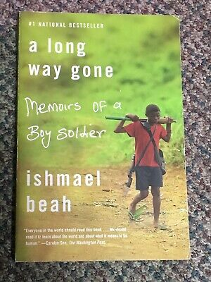 a long way gone Memours of a Boy soldier ishmael beah Soft Cover Book