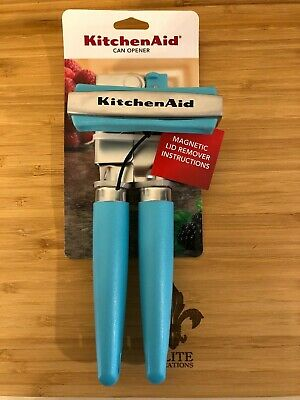 KitchenAid Stainless Steel Can Opener,  with magnetic lid removal