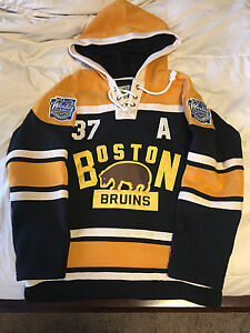 Patrice Bergeron Boston Hoodie Men's Medium