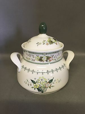 Queenly DOULTON PROVENCAL Dinnerware (T.C. 1034) SUGAR BOWL AND LID