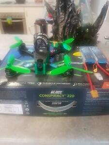 Blade conspiricy 220 brushless racing drone.