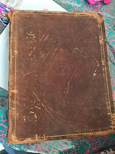 Holy Bible, 1834, published by Joseph Wilson