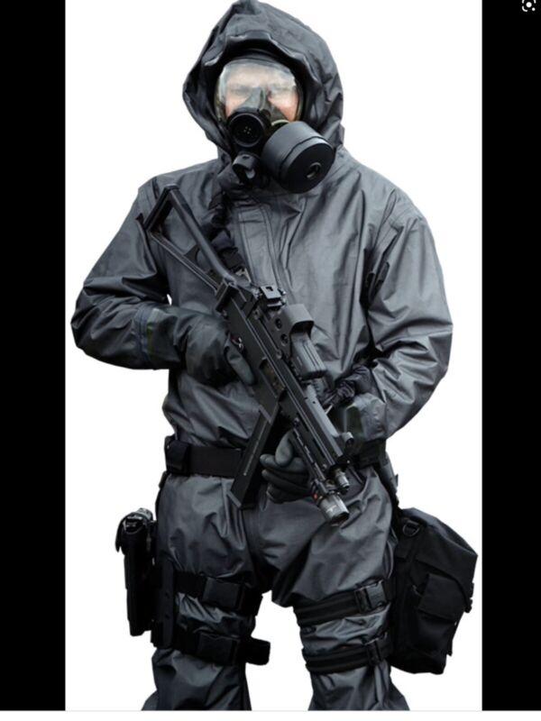 Blauer Chempak XRT Suit 2007 edition/Biohazard Suit/ Size M