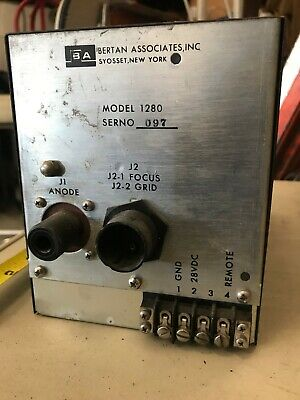 Bertan Associates Model 1280 High Voltage Power Supply