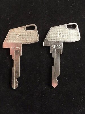 Tec Cash Register Ma Key Sl22 Set Of 2