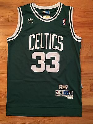 Nwt Throwback Swingman Jersey Larry Bird  33 Boston Celtics Mens Green