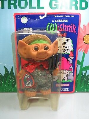 "FARMER - 7"" Uneeda Troll Dolls - New In Damaged Package - RARE for sale  Shipping to Ireland"